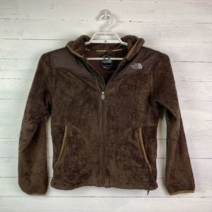 The North Face Womens Oso Furry Jacket Hooded